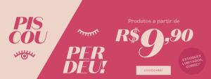 Promoção Boticário - Piscou Perdeu - produtos a partir de R$9,90
