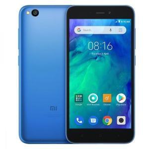 Smartphone Xiaomi Redmi Go Dual SIM 8GB Android 8 Quad Core 1.4 GHz Câmera 8MP + 5MP - Azul - R$369