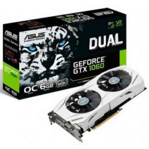 PLACA DE VÍDEO ASUS GEFORCE GTX 1060 DUAL OC 6GB GDDR5 DUAL-GTX1060-O6G PCI-EXP - R$1216