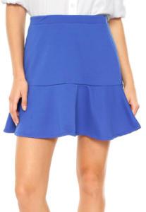 Saia Mercatto Textura Azul | R$18