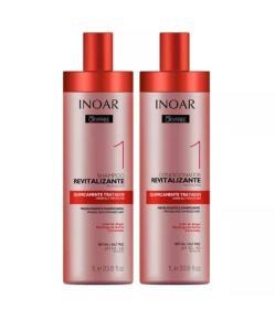 Kit Inoar shampoo e condicionador 1L - R$29