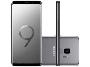 Smartphone Samsung Galaxy S9 128GB Cinza 4G - Câm. 12MP + Selfie 8MP Tela 5.8 Quad HD Octa Core - R$2199