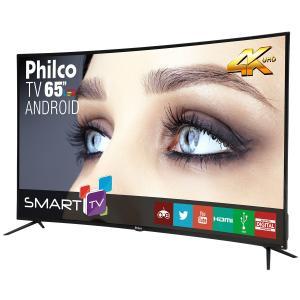 "[Loja Física - Hipermercado Extra] Smart TV Philco Led 65"" 4K Android Curva PTV65A16SA - R$3699"