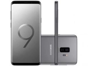 """[App Shoptime - Cartão Shoptime] Smartphone Samsung Galaxy S9+ Dual Chip Android 8.0 Tela 6.2"""" - R$2551"""