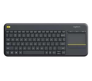 [App Shoptime] Teclado Wireless Touch Keyboard K400 Plus TV - Logitech - R$70 (AME R$65)