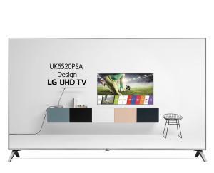 Smart TV 4K LG LED 50'', Upscaler 4K, Sound Sync e Wi-Fi - 50UK6520 - R$1987