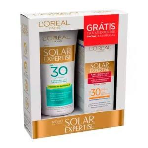 Kit Loreal Protetor Solar Expertise FPS30 200ml + Protetor Solar Facial 25g