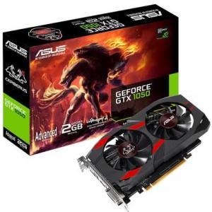 Placa de Vídeo Asus NVIDIA GeForce GTX 1050 Advanced Cerberus 2GB, GDDR5 - CERBERUS-GTX1050-A2G