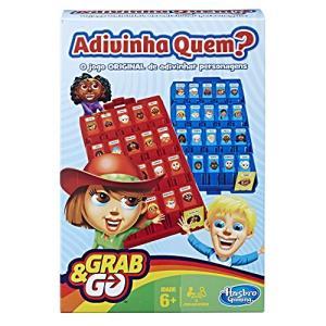 Jogo Gaming Adivinha Quem? -  Grab & Go Hasbro | R$36