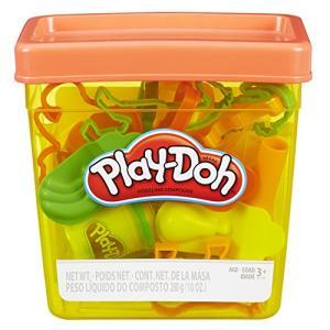 Conjunto de Massinha Play-Doh com Balde 5 Potes Hasbro   R$40