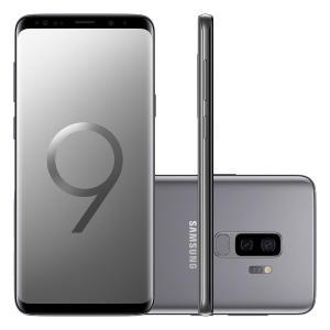 Smartphone Samsung Galaxy S9 Plus 128GB Cinza 4G Tela 6.2 Câmera 12MP Android 8.0 por R$ 2623
