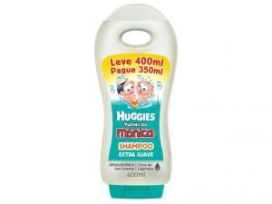 Shampoo Turma da Mônica Suave 400ml (leve 4 e pague 2)