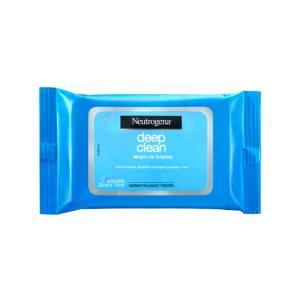 Lenços de Limpeza Neutrogena Deep Clean - 7un | R$8