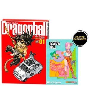 Dragon Ball - Volume 1 - Com pôster exclusivo - R$ 65