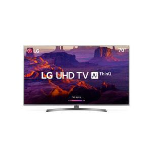 "[AME] Smart TV LED 70"" Ultra HD 4K LG 70UK6540, ThinQ AI, HDR 10 Pro, 4 HDMI 2 USB - R$ 5797 (receba R$ 1159 de volta)"