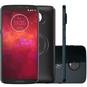 Smartphone Motorola Moto Z3 Play Stereo Speaker Edition 64GB XT1929 Índigo por R$ 1420