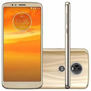 "Smartphone, Motorola, Moto E5 Play, XT1920, 16 GB, 5.34"", Ouro R$599"