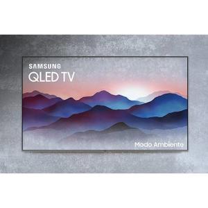 """Smart TV 49"""" Samsung Qled 2018 Q6FN UHD 4k com 4 HDMI 2 USB Wi-Fi Modo Ambiente Pontos Quânticos HDR1000 R$3.775 (R$3.020 com AME)"""