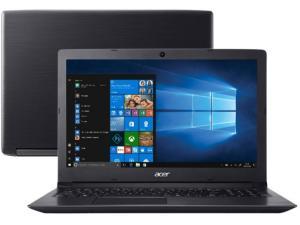 "Notebook Acer Aspire 3 A315-53-C6CS Intel Core i5 - 4GB 1TB 15,6"" Windows 10 - R$ 2115"