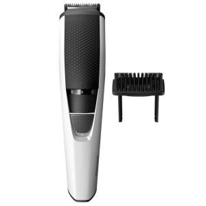 Aparador de Pêlos Philips BeardTrimmer Series 3000 BT3206/14 Sem Fio Branco/Preto - Bivolt - R$85