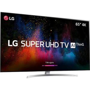 """[Cartão Shoptime] Smart TV LED 65"""" LG Ultra HD 4k 65SK8500 4 HDMI 3 USB WebO 4.0 - R$ 6358"""
