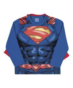 Camiseta Infantil Super-Homem - Kamylus R$34