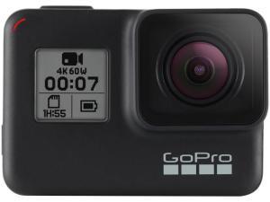 "GoPro Hero 7 Black À prova de Água 12MP Wi-Fi - Bluetooth Gravação 4K Display 2"" Touch"