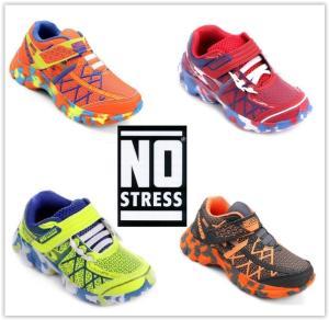 Leve 2 Tênis Infantil No Stress Running Masculino  por R$ 100