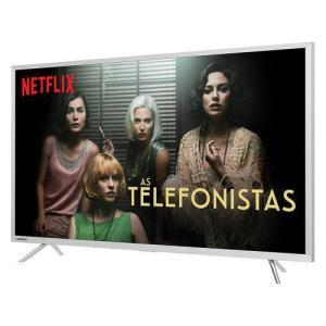 Smart Tv Led 49'' Ultra HD 4k Toshiba 49u7800 3 Hdmi 2 USB Wi-Fi Integrado Conversor Digital