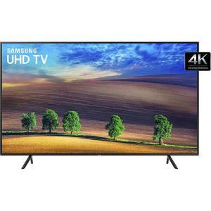 "Smart TV LED 49"" Samsung Ultra HD 4K 49NU7100 3 HDMI 2 USB HDR - R$ 1934"