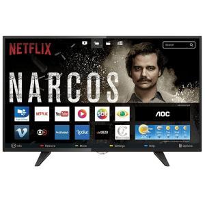 """Smart TV LED 39"""" AOC WIFI HD USB HDMI LE39S5970 por R$ 1019"""