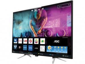 "Smart TV LED 50"" AOC 4K/Ultra HD LE50U7970 4 HDMI 3 USB - R$ 1710"