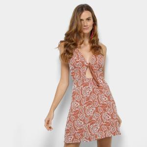 Vestido Bordado Colcci com Recorte Feminino - Colorido (P) - R$ 300