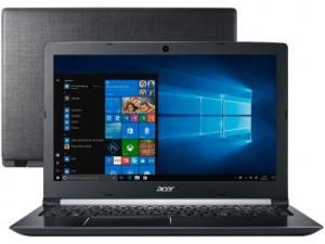 "Notebook Acer A315-51-347W Intel Core i3 4GB - 500GB 15,6"" Windows 10 por R$ 1755"