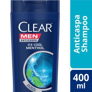 Shampoo Clear Men Ice Cool Menthol 400ml