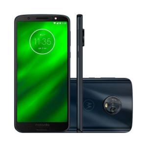 Smartphone Motorola Moto G6 XT1925 64GB Tela de 5.7 Dual Chip Android 8.0 Câmera Octa-Core 4GB RAM
