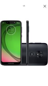 "Smartphone Motorola Moto G7 Play 32GB Dual Chip Android Pie - 9.0 Tela 5.7"" 1.8 GHz Octa-Core 4G Câmera 13MP - Indigo"