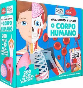 O Corpo Humano. Viaje, Conheça e Explore | R$40