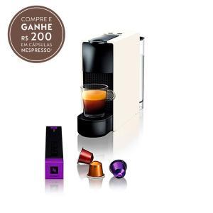 Cafeteira Nespresso Essenza Mini + 200 reais em capsulas | R$207