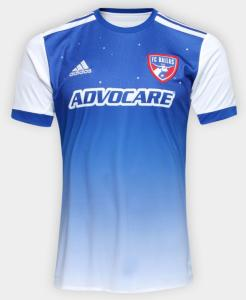 Camisa Oficial Dallas MLS S/N 2018