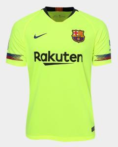 Camisa Oficial Barcelona S/N 2018