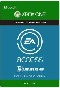 EA Access - 12 Month Subscription (Xbox One) por R$ 78