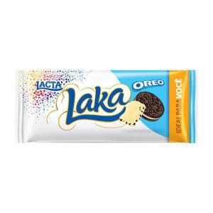Barra de chocolate laka oreo 90g por R$ 3