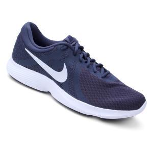 Tênis Nike Revolution 4 Masculino - Azul e Chumbo (Apenas numero 39) por R$ 149