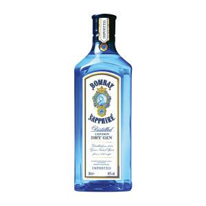 Gin Bombay Sapphire 750ml - R$85