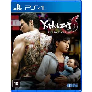 [Primeira Compra] Yakuza 6: The Song Of Life - PS4