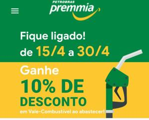 [Petrobras Premmia] 10% Desconto Abastecimento