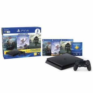 Console PlayStation 4 - Slim 1TB - Hits Bundle v4