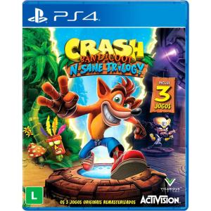 Crash Bandicoot N'Sane Trilogy PS4 R$70
