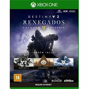 Destiny 2 Renegados - Edição Lendária - Xbox One R$50
